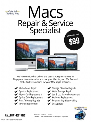 Macbook Repair & Upgrade
