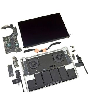Macbook pro retina spare parts
